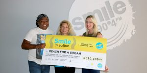Reach 4 a dream with a giant cheque